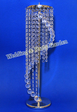"22""(H) Wedding Acrylic Crystal Centerpiece/Table flower stand /Wedding Chandelier,Party Decoration()"