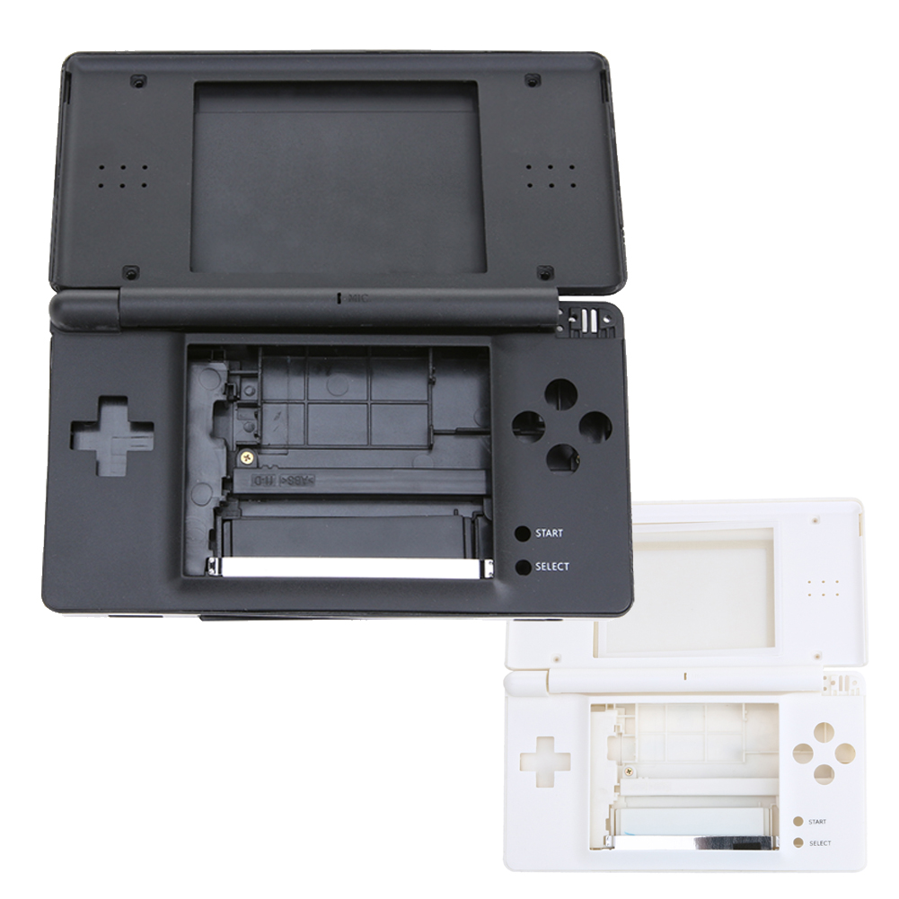 Factory Price Black/White Full Repair Parts Replacement Housing Shell Case Kit For Nintendo DS Lite NDSL(China)