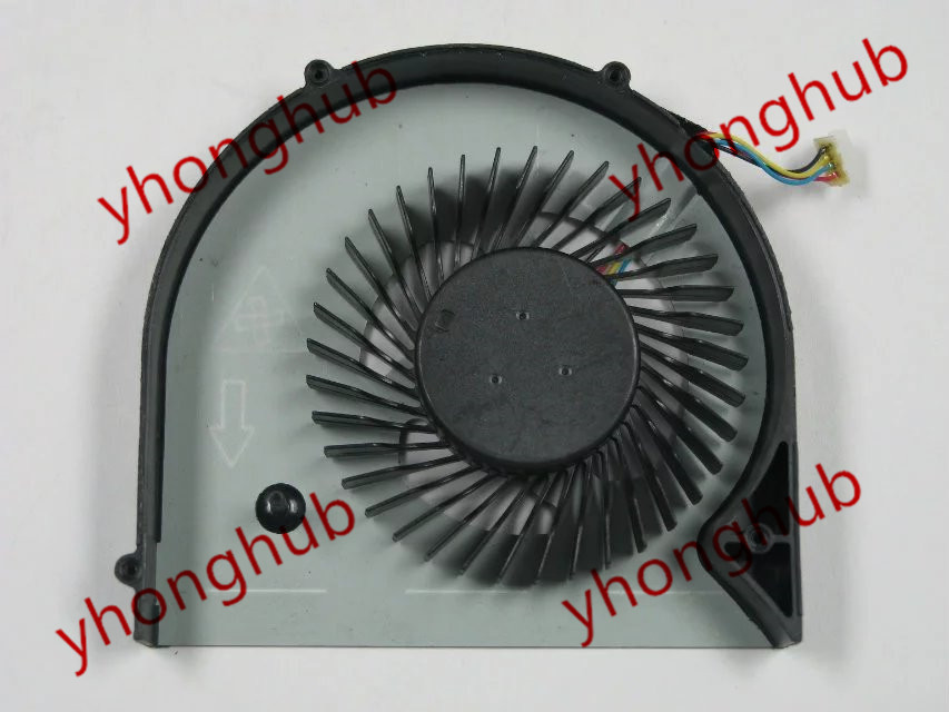 Free shipping For FCN DFS200805000T, FG36 DC 5V 0.50A 4-wire 4-pin connector Bare Fan<br>