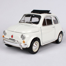 Maisto Bburago 1:18 FIAT 500L Retro Classic Car Diecast Model Car Toy New In Box Free Shipping 12035(China)