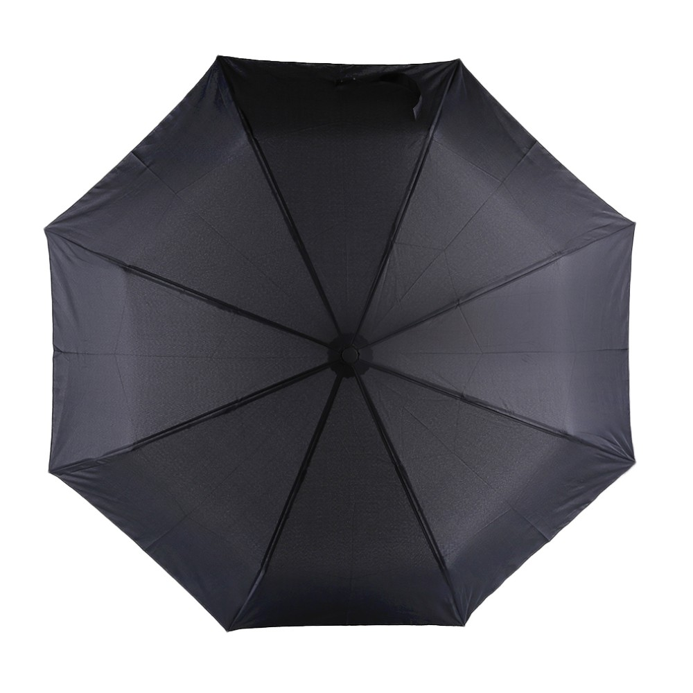 17 New 94*66cm Durable Fashionable Advanced Fully-Automatic UV-proof Three Folding Business Solid Sunshade Rain Umbrella 9
