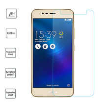 0.26mm Tempered Glass Film For asus zenfone 3 Max ZC520tl ZC553KL Screen Protector For zenfone 4 MAX ZC554KL Glass Saver 9H