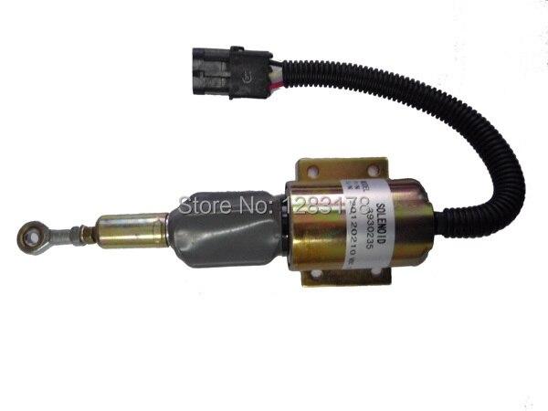 Fuel Shutdown Solenoid Valve 3930235 SA-4348-12 12V<br>