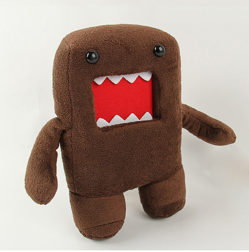18cm 30cm 40cm Domokun Funny Domo-kun Plush Doll Children Novelty Creative Gift Kawaii Domo Kun Stuffed Toys for Kids (15)