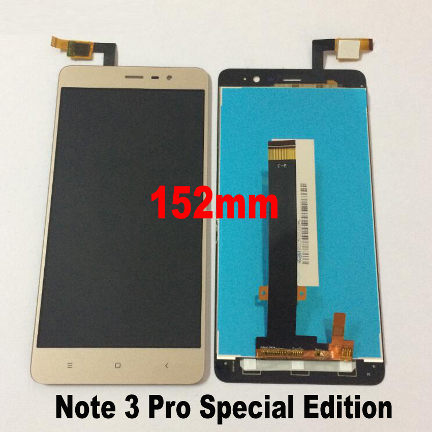LTPro Working LCD Touch Screen Digitizer Assembly For Xiaomi Redmi Note 3 Pro Prime Special Edition SE 152mm Phone Display Parts