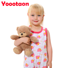 20cm cute Teddy bear plush kids toys stuffed dolls for children girls gifts baby(China)