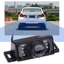 Universal 7 LEDS HD Auto Parking Reverse Backup Camera Waterproof 170 Dgree Wide Angle Night Vision Car Rear View Camera(China)