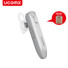 Buy UCOMX U2 Wireless Earbuds Earphone Business Headset Bluetooth Headphones Mic IPX5 Waterproof Hands-free IOS Android for $15.69 in AliExpress store