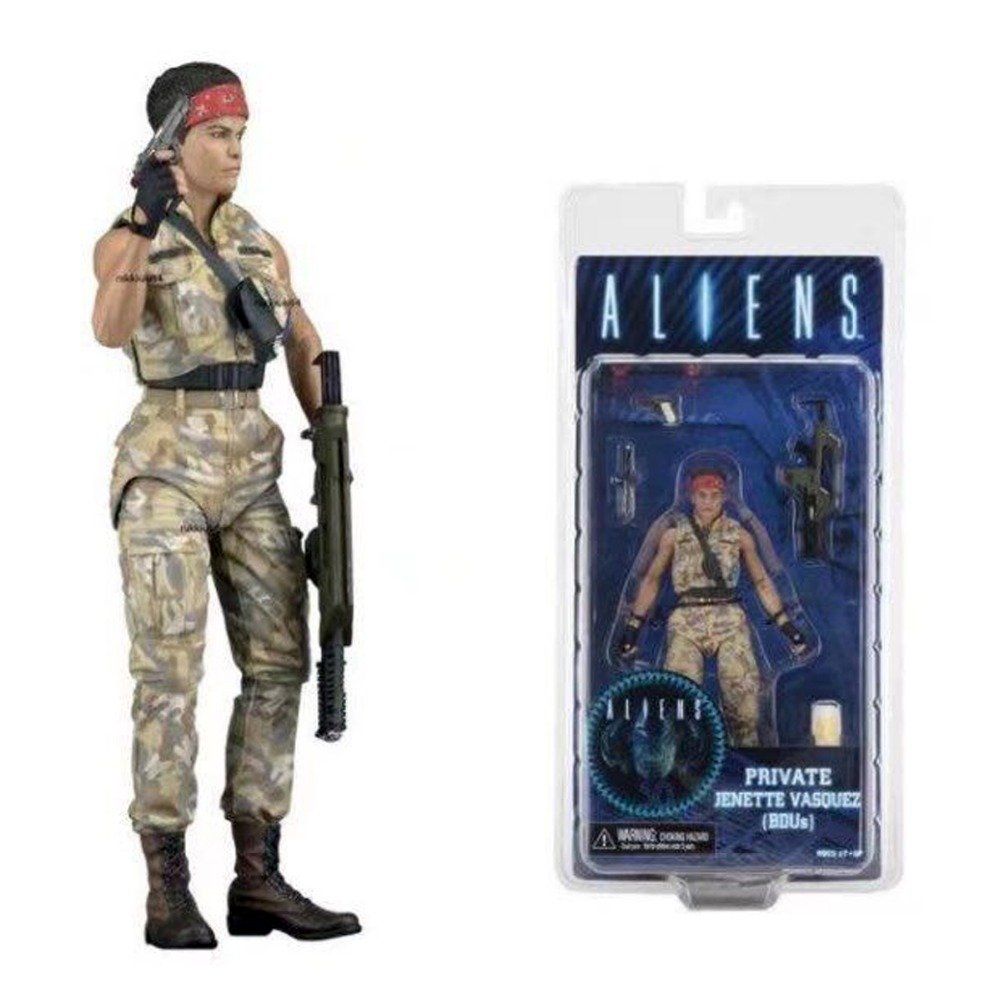 Neca Aliens Series 12 Private Jenette Vasquez Bdus Action Figure 6 Free Shipping<br>