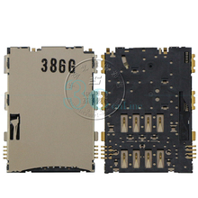 "2pcs for Samsung Galaxy Tab 2 7.0"" Inch Tablet P3100 SIM Card Reader Holder Connector Socket Slot Replacement Flex Cable Parts"