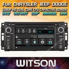 WITSON CAR DVD GPS For CHRYSLER JEEP DODGE with Capctive Screen+1080P+DSP+WiFi+3G+DVR+Good Price+GIFT+Free shipping
