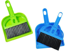 Mini desktop cleaning brush keyboard brush with dustpan small broom