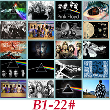 B1-22# Pink Floyd Classic Series sticker 20/pcs PVC Sticker Travel Suitcase PencilBox Bike Phone Sliding Plate Graffiti Styling(China)