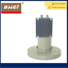 cooling fin type twin output C Band LNB 5150mhz for America market