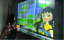 46 inch USB Interactive Touch Foil for Corporate office / 4 points touch screen film SideTail