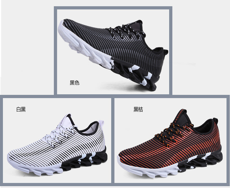 17New Hot Light Running Shoes For Men Breathable Outdoor Sport Shoes Summer Cushioning Male Shockproof Sole Athletic Sneakers 6