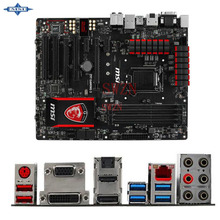 original Used Desktop motherboard For msi Z97 GAMING 5 Z97 support LGA 1150 4*DDR3 support 32G 6*SATA3 USB3.0 ATX