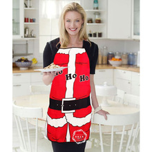 Qualified Christmas Santa Claus Apron XMAS Pinafore Whimsy Novelty Gift for Kitchen Tablier Christmas Decorations for Home 2016