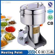 1250g small salt and pepper grinders stainless steel electronic herb grinder Swing type electric coffee spice grinder(China)