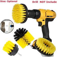 3pcs Power Scrubber Brush Set For Bathroom Drill Scrubber Brush For Cleaning Cordless Drill Attachment Kit Power Scrub Brush(China)