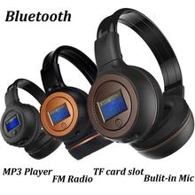 2017 Top Sale 3.0 Stereo Bluetooth Wireless Headset/Headphones With Call Mic/Microphone for MP3/MP4 for Skype for cell phone(China)