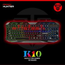 by dhl or ems 50pcs K10 USB Wired Colorful Water Resistant gaming Game Keyboard Backlight Support Laptop Desktop
