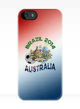 World Cup  Team Australia Cover case for iphone 4 4s 5 5s 5c 6 6s plus samsung galaxy S3 S4 mini S5 S6 Note 2 3 4   z2869