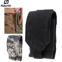 Blackview BV6000S Bag Outdoor MOLLE Army Camo Camouflage Bag Hook Loop Belt Pouch Holster Case For Vernee Active/UHANS K5000(China)