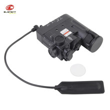 Element DBAL-D2 Battery Case Military Red Dot Laser with LED Flashlight and IR illuminator Outdoor Hunting Tool Black/Tan(China)