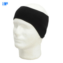 Thermal Fleece Headband Balaclava Ski Earmuffs Protective Cap Men Hunting Camping Sport Caps Warm Soft  Fleece Winter Hairband