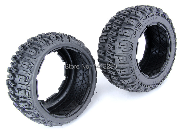 5B Rear knobby tire set for baja parts, free shipping<br><br>Aliexpress