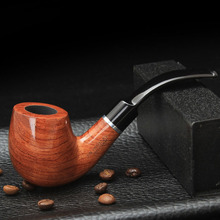 Smoker 6 Smoking Tools New Style Rosewood Smoking Tobacco Pipe High Quality Wooden Smoking Pipe for Smoking Tobacco 2015