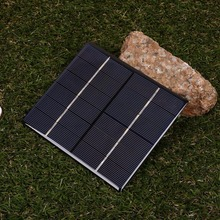New 2.5W 6V Ploycrystalline Solar Panel Power DIY Plate Battery Charge Professional Outdoor Travelling Powerbank Board Cell