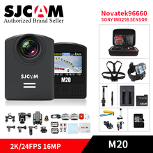 SJCAM M20 wifi Action Camera 4k/2K Underwater Gyro Mini Camcorder 16MP HD Waterproof sports DV with remote control watch/monopod(China)