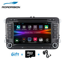 Android 4.4.4 Car DVD GPS Navigation radio for Volkswagen VW golf 5 6 touran passat B6 sharan jetta polo tiguan Built-in Canbus(China)