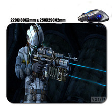 Adventure Game Dead Space 3 Custom High Quality Skid Durable Fashion 290x250/180x220x2mm Computer And Laptop Gaming Mouse Pad