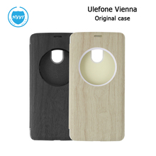 UleFone vienna Original PU leather case Flip cover with window-view For UleFone vienna Cell Phone protective case Free Shipping