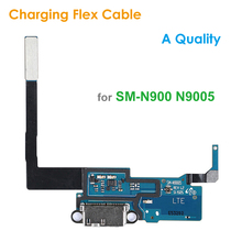 A Quality Replacement Charging Flex Cable for Samsung Galaxy Note 3 Note3 N900 N9005 Microphone USB Port Socket Dock Connector(China)