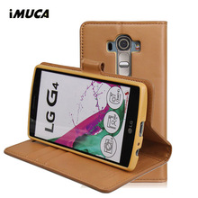 Buy iMUCA LG G4 Case Flip Leather Wallet Case LG G4 H815 Anti-knock Back Cover Coque Kickstand Phone Shell Card Pocket for $7.19 in AliExpress store