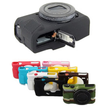 Nice Camera Video Bag Silicone Case For Canon G7XII G7X mark 2 G7X II   Rubber Camera case Protective Body Cover Skin