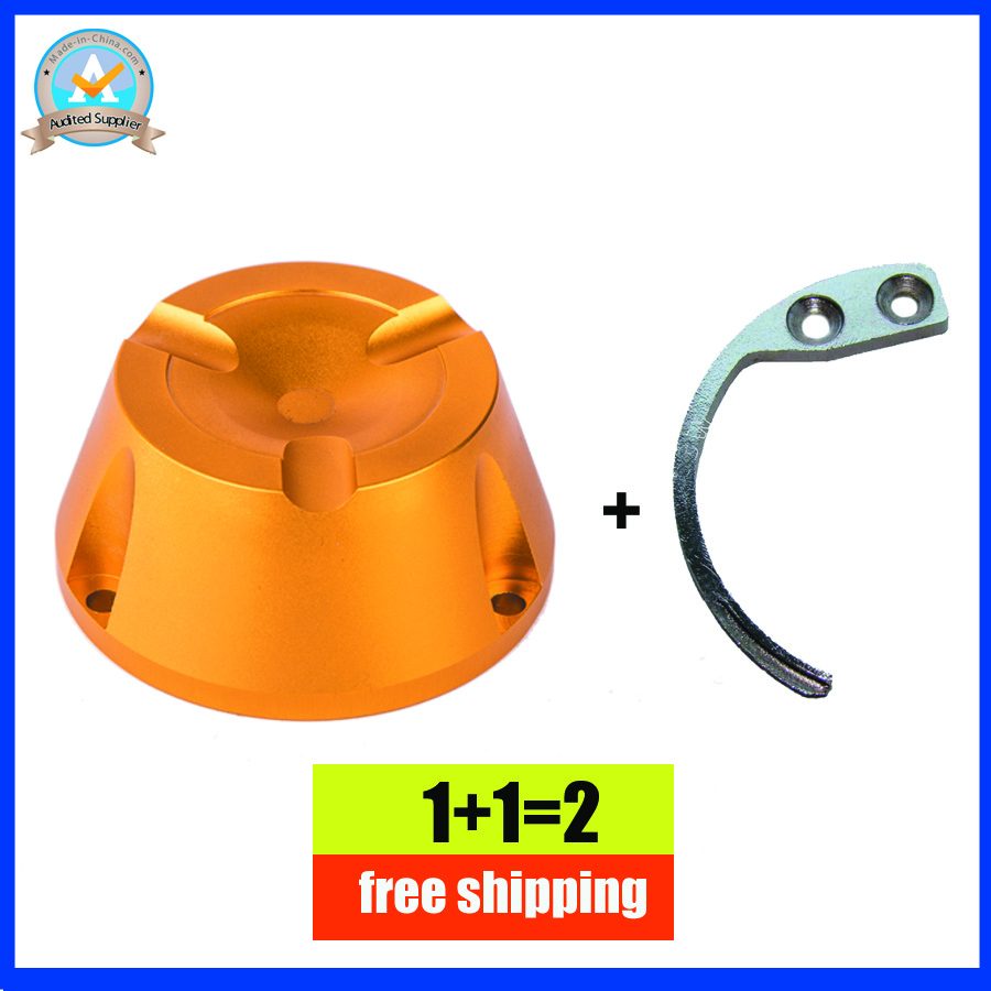 13000gs universal eas security tag detacher in gold color 1pcs+1 detacher hook for super security tag free shipping<br>