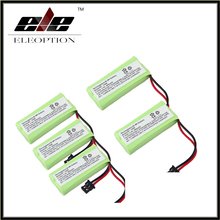 Eleoption 5Pcs For Uniden BT-1008 BT-1016 BT-1021 BT-1025 BT1021 BT1025 CPH-515B Cordless Home phone battery