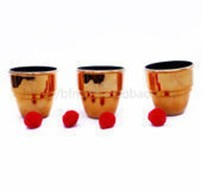 Free shipping Big size Cups and balls 4 sets magic sets magic toys magic tricks