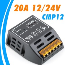 20A solar Charge Controller 12V 24V solar regulator for 480W 240W solar panel battery charge controller(China)
