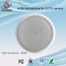 SIZHENG high sensitive security camera microphone low noise sound monitor pickup audio for CCTV