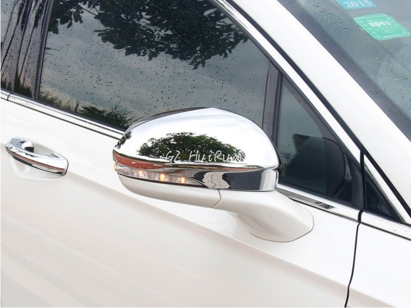 ABS Chrome Side Mirror Cover Rearview Mirror Cover fit for Ford Mondeo 2013 2014<br>