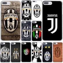 Buy Juventus logo Hard Coque Shell Phone Case Apple iPhone 7 7 Plus 6 6S Plus 5 5S SE 5C 4 4S Clear Back Cover for $1.68 in AliExpress store