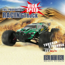 New High Speed RC Car Buggy 9116 1:12 2WD Brushed Smart RC Monster Truck RTR 2.4GHz Off road Good Gift for Kid Big Foot Vehicle