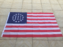 New fashion Betsy Ross Flag NEW 3x5 AMERICAN 13 STARS USA, united states 3 percent flag free shipping(China)