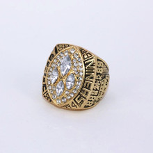 USA size 10.5! 1989 San Francisco 49ers Super Bowl 24 world championship rings replica MONTANA solid ring drop shipping(China)